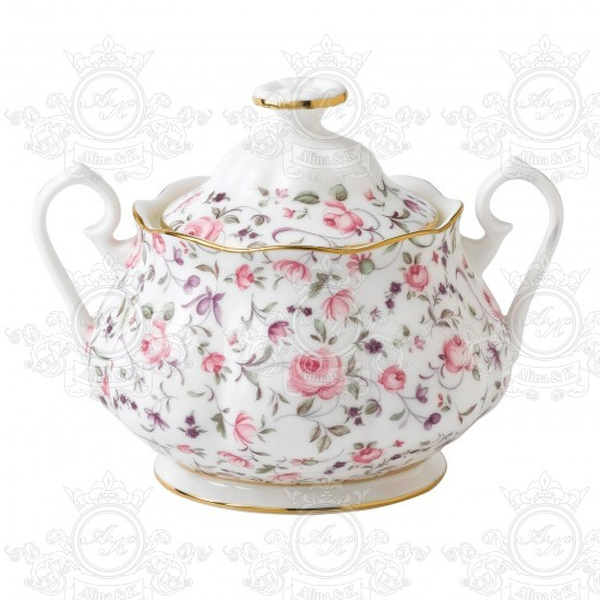 ROYAL ALBERT чайный сервиз ROSE CONFETTI
