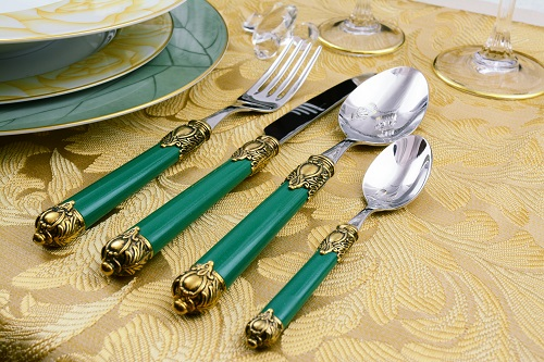 Rinascimento green gold plated