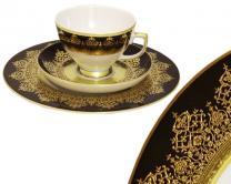 Falkenporzellan Marakesh black чайный сервиз...