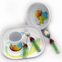Набор детской посуды Baby Tweet