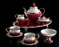 CATTIN PORCELLANE чайный сервиз на 6 персон