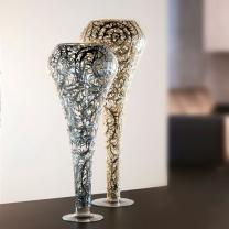 DIAMOND GOLD VASE CM. 100