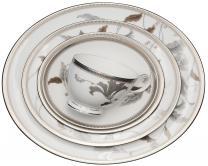 Noritake Islay  Platinum чайный сервиз из 29...