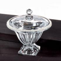 ваза с крышкой  21см Swarovski