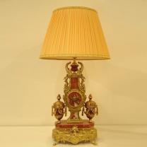 Лампа настольная на бронзовой и мраморной ...