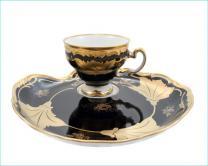 Weimar  Royal Cobolt чашка с блюдцем 6 шт