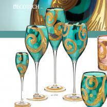 Бокалы для вина  MAGNIFICO 6 PCS AR.NO-GOLD